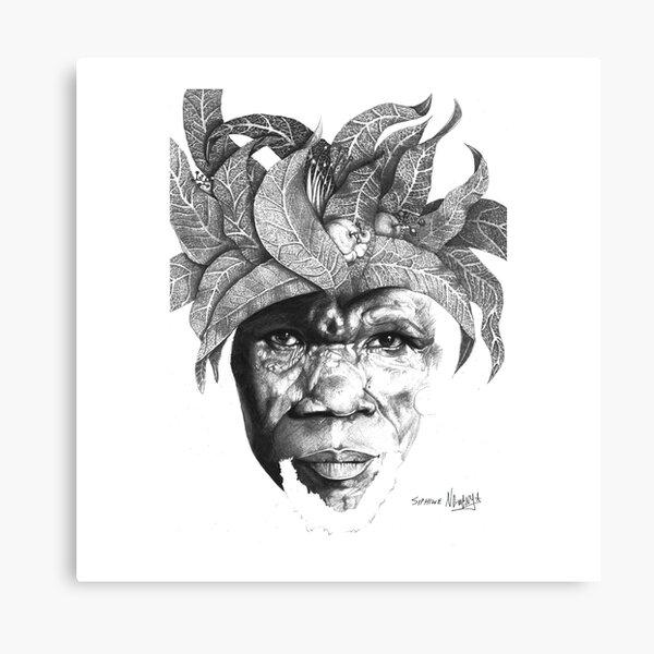 The Original Sunman - By Siphiwe Ngwenya Canvas Print