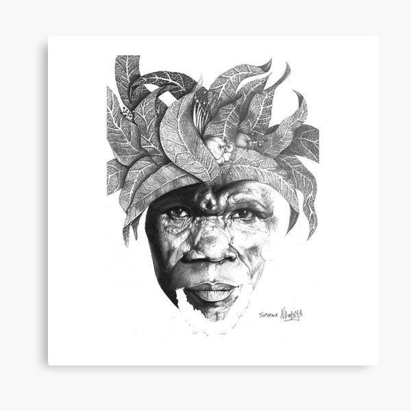 The Original Sunman - By Siphiwe Ngwenya Metal Print