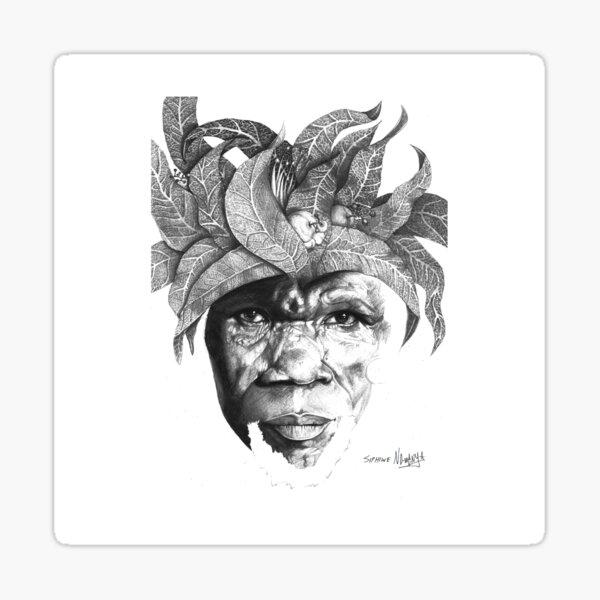 The Original Sunman - By Siphiwe Ngwenya Sticker