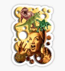 Jurassic Miranda Sticker