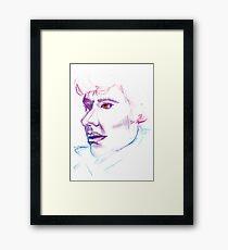 Sherlock Drawing Framed Print