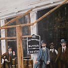 Fentress Market and Sundries, Norfolk, Virginia 1895 by Jsimone