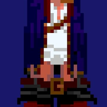 Guybrush hanging (Monkey Island 2) by themasrix