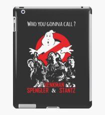Who you gonna call ? iPad Case/Skin