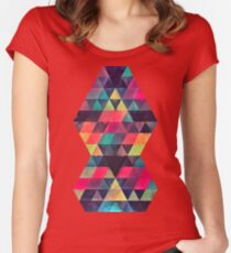 fyx th'pryss Women's Fitted Scoop T-Shirt