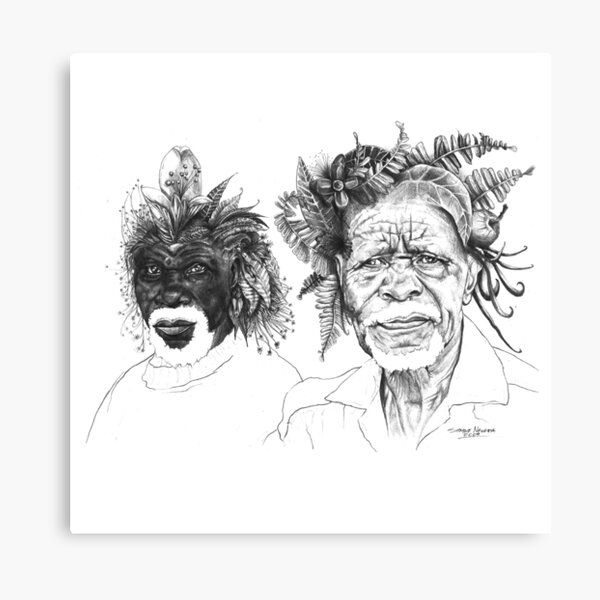 The Great Sunmen - By Siphiwe Ngwenya Canvas Print