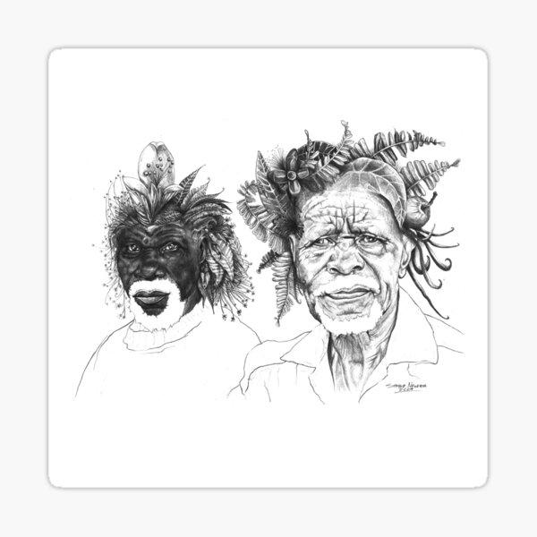 The Great Sunmen - By Siphiwe Ngwenya Sticker