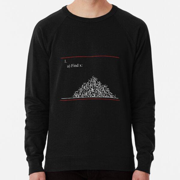 Math problem Lightweight Sweatshirt