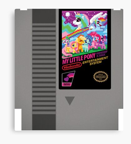 MLP Retro Cart Canvas Print