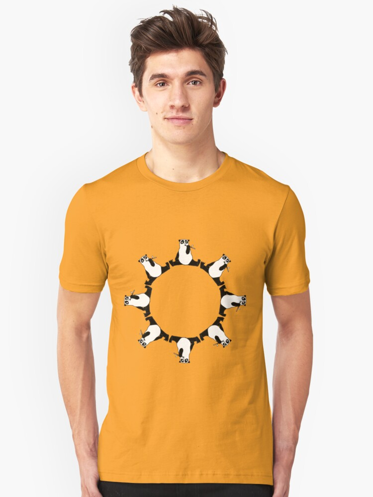 The Circle of Panda - Edbert Unisex T-Shirt Front