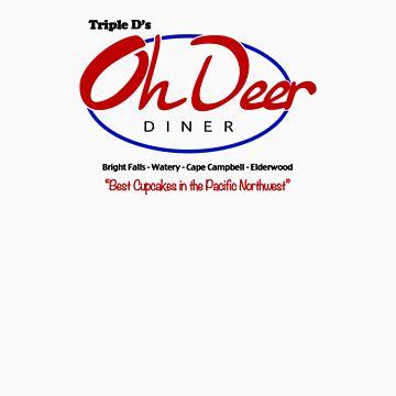 Triple D's Oh Deer Diner by Torrechiara