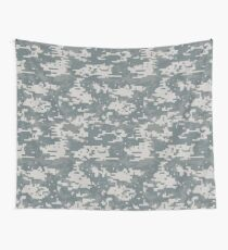 Digital Camouflage Wall Tapestry