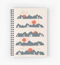 Sunrises...Sunsets... Spiral Notebook