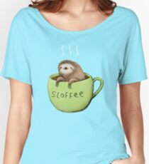 Sloffee Women's Relaxed Fit T-Shirt