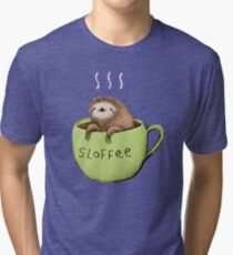 Camiseta de tejido mixto Sloffee