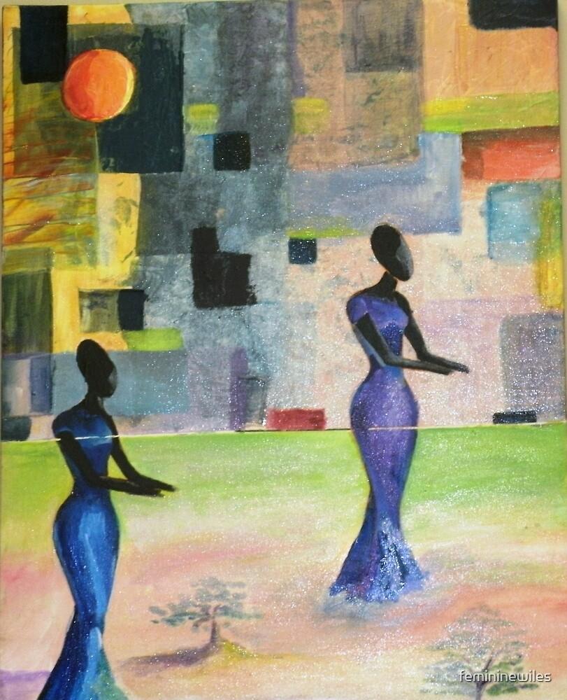 Untitled Blue by femininewiles