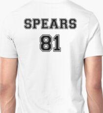 Britney Spears 'SPEARS 81' Sportive / Football Jersey Look T-Shirt