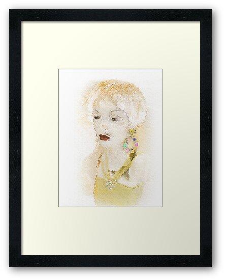 Portrait Of A Woman by CarolM