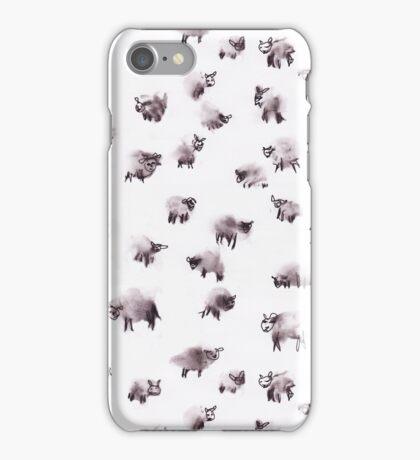 Moody Sheep iPhone Case/Skin