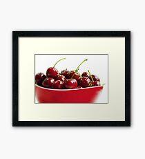 Sweet Cherries Framed Print