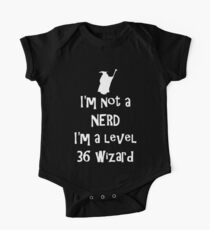 Not a nerd One Piece - Short Sleeve