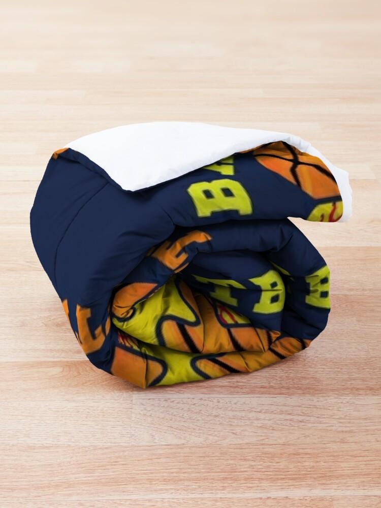 Alternate view of Softball Basketball Comforter