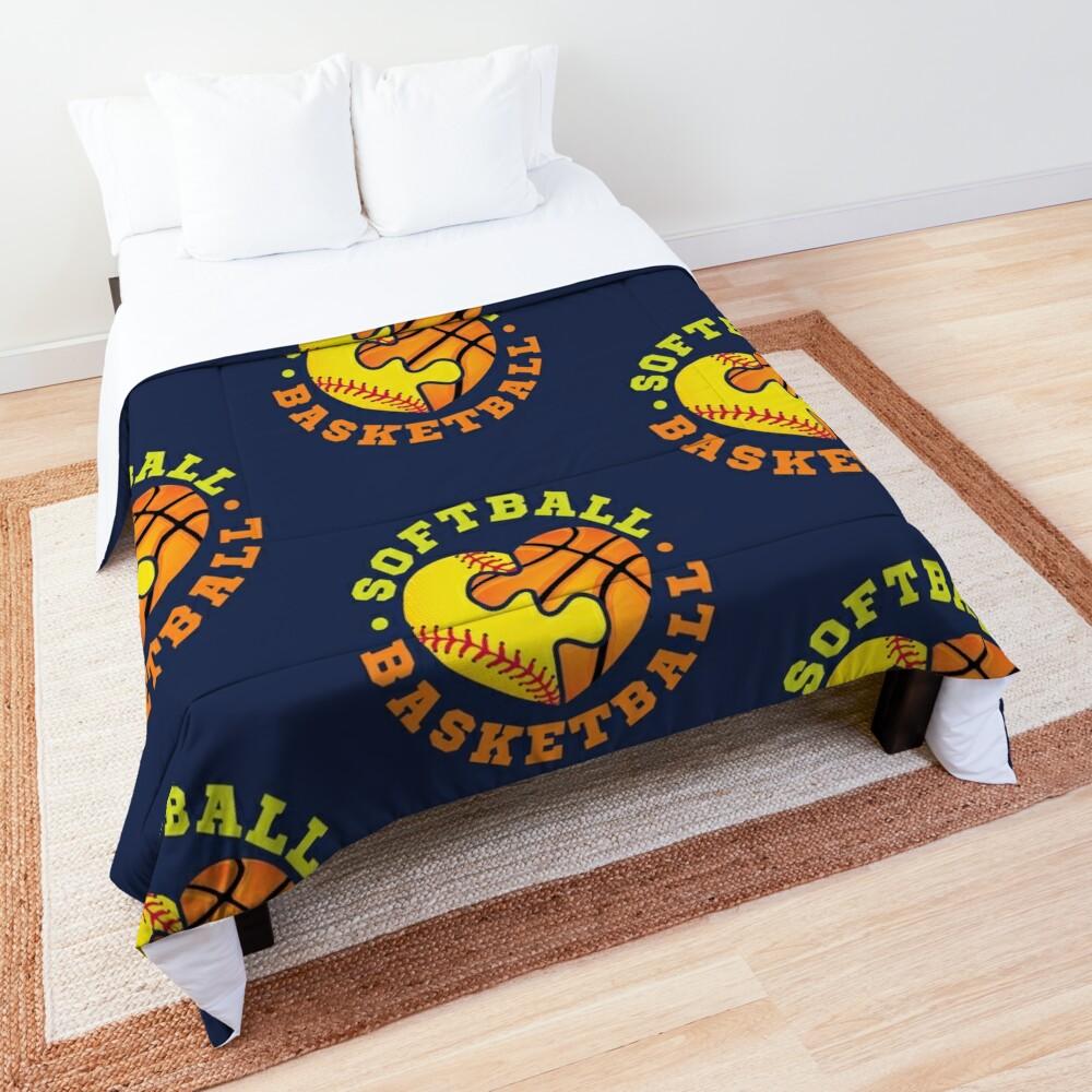 Softball Basketball Comforter