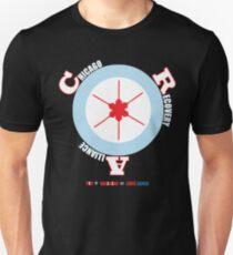CRA Target Chicago Flag w/ hypodermic needle star T-Shirt