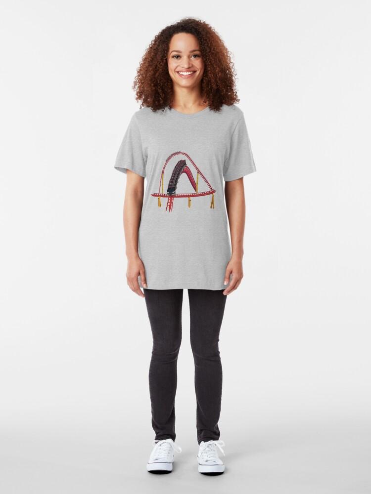Alternate view of Intimidator 305 Airtime Design Slim Fit T-Shirt