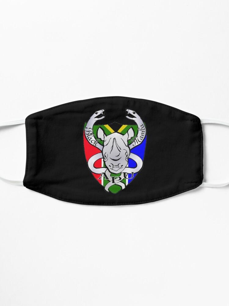 Alternate view of Black Mamba Anti Poaching Unit Logo Mask Mask
