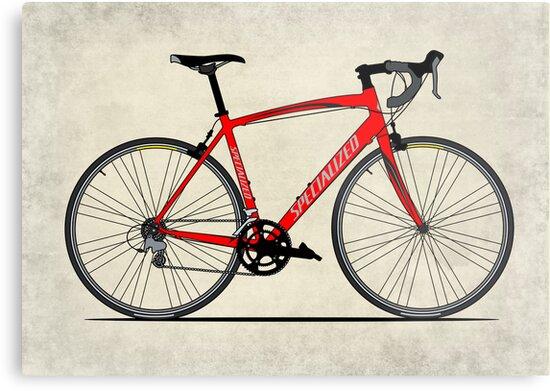 Specialized Race Bike by Andy Scullion