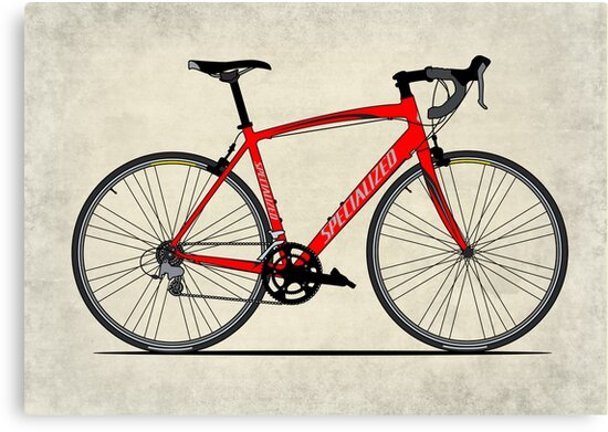 Specialized Race Bike by Andy Scullion