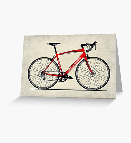 Specialized Race Bike Greeting Card