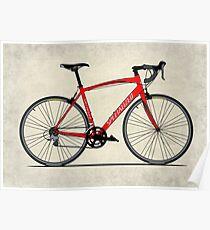 Specialized Race Bike Poster