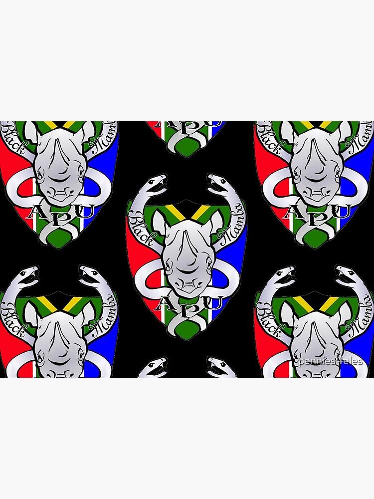 Black Mamba Anti Poaching Unit Logo by pennies4eles