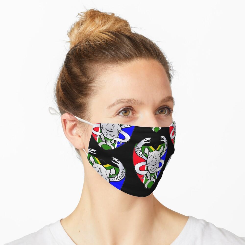 Black Mamba Anti Poaching Unit Logo Mask