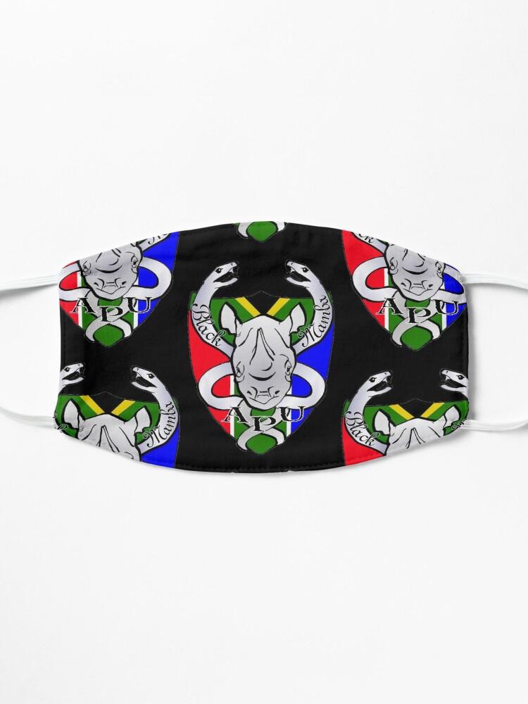 Alternate view of Black Mamba Anti Poaching Unit Logo Mask