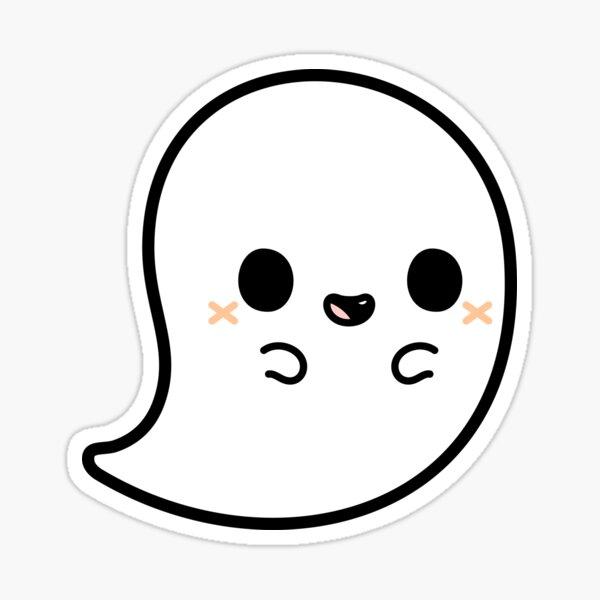 Cute spooky ghost Sticker