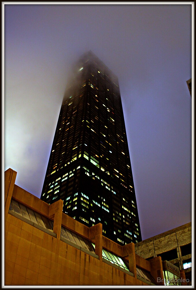 Foggy night by Brandonleo
