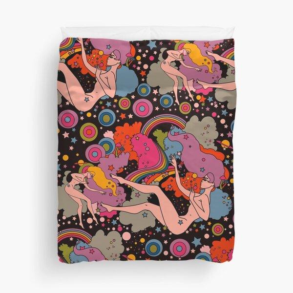 Space Girls Duvet Cover