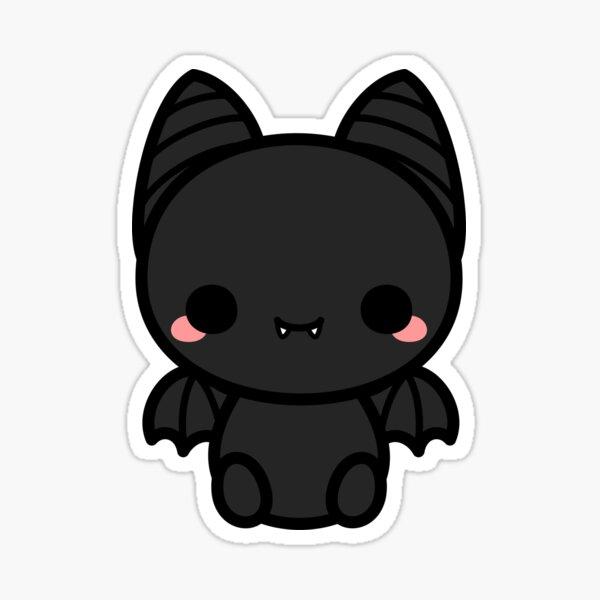 Cute spooky bat Sticker