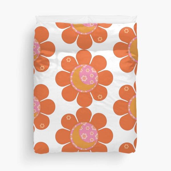 Flower Moon Duvet Cover