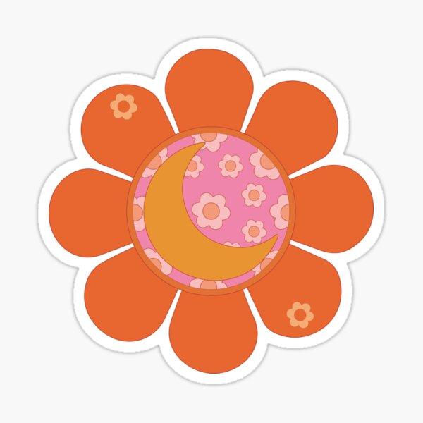 Flower Moon Sticker