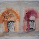 'Two Norman Doorways' by Martin Williamson (©cobbybrook)
