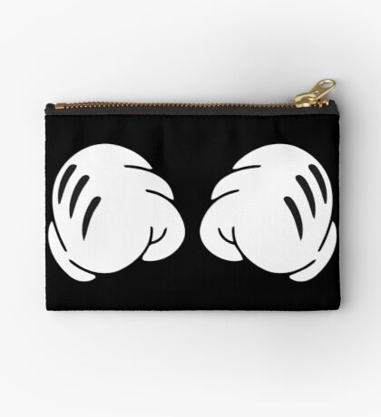 Funny Boxing hands  Zipper Pouch
