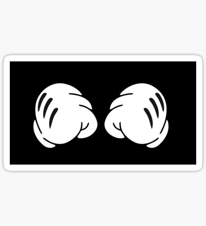 Funny Boxing hands  Sticker
