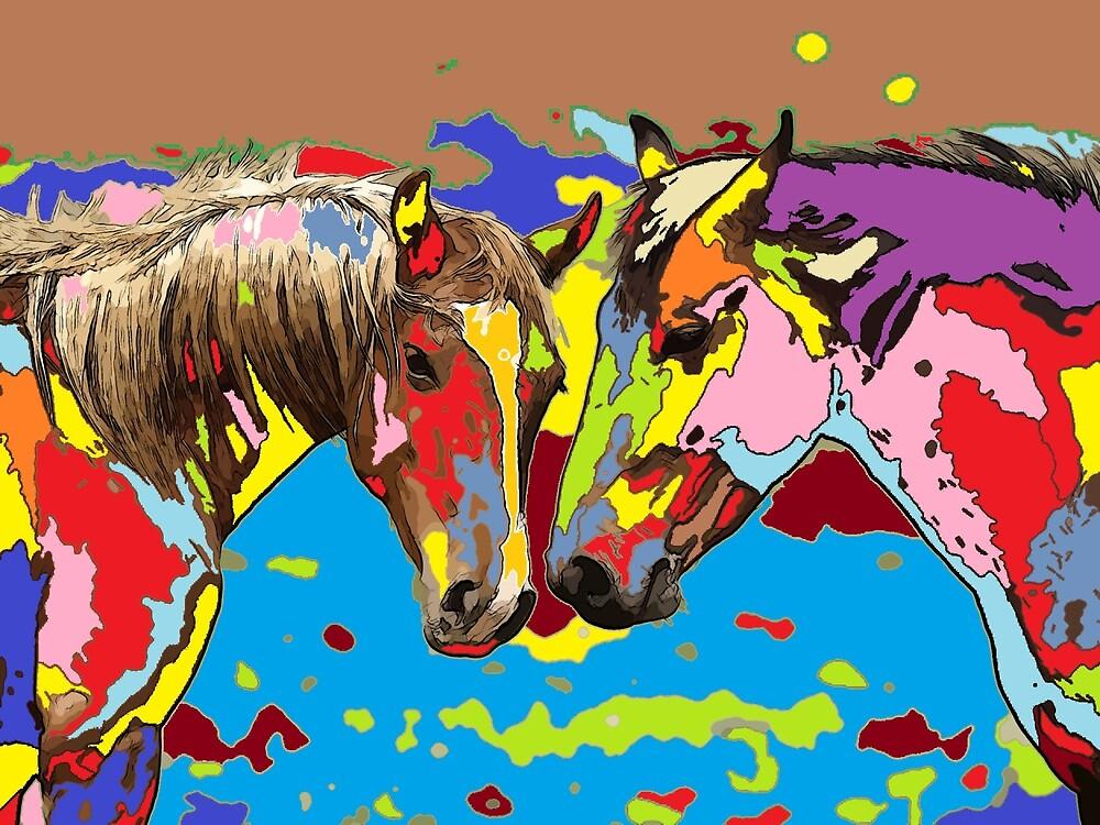 horse Portrait 9 by adriantovnodtov