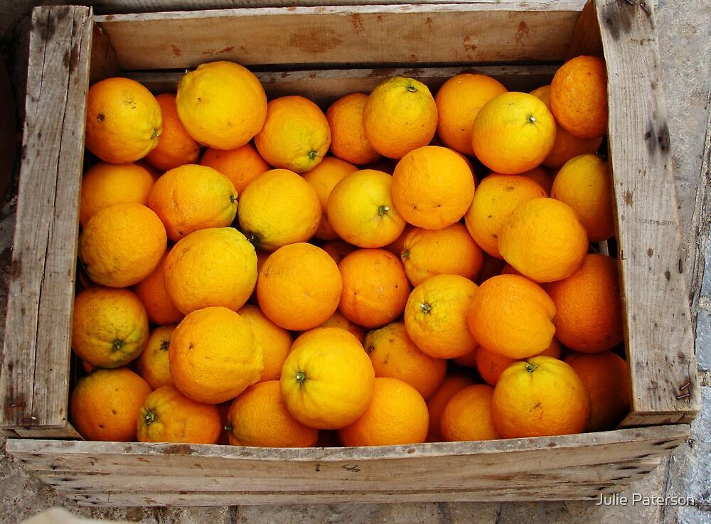 Oranges by Julie Paterson