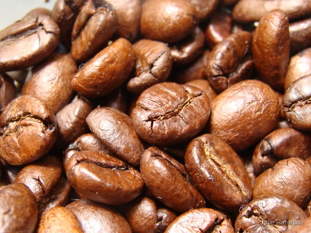 Coffee Beans by Julie Paterson