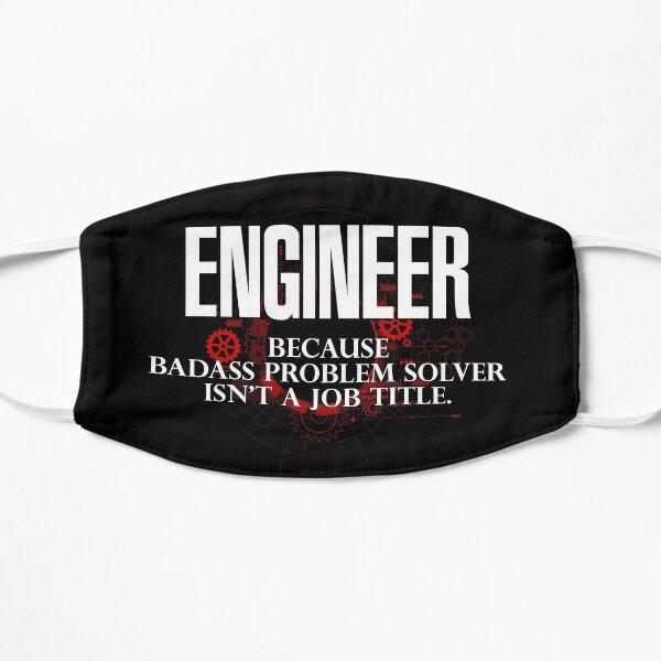 Ingeniero rudo Mascarilla plana